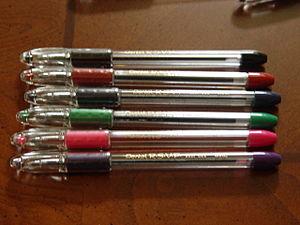 Pentel - Image: Pentel RSVP pens