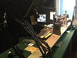 This is a photograph of the Penwith Radio studios.