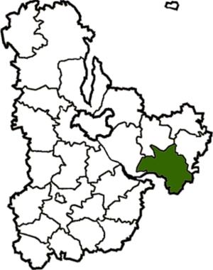 Pereiaslav-Khmelnytskyi Raion - Image: Pereyaslav Hmelnytskyi Raion