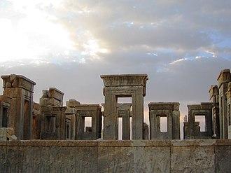 Tachara - Ruins of the Tachara, Persepolis.