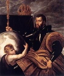 Peter Paul Rubens: Allegory on Emperor Charles as Ruler of Vast Realms