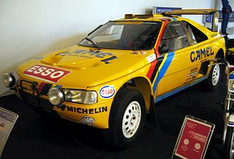 Peugeot 405 - Peugeot 405 Turbo-16 winner of the Dakar Rally 1989 and 1990