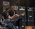 Phil Campbell and Lemmy Kilmister of Motörhead at Wacken Open Air 2013.jpg