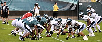 2009 Philadelphia Eagles season - Summer scrimmage game during preseason