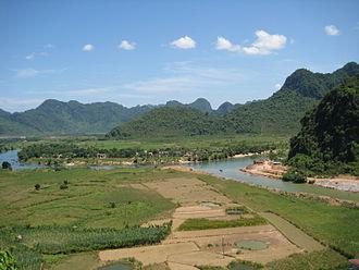 Quảng Bình Province - Part of the karst mounts in Phong Nha-Kẻ Bàng National Park