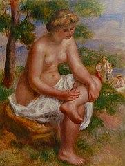 Baigneuse assise dans un paysage, dite Eurydice