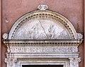 Pietro Lombardo, portale di san giobbe con i ss. giobbe e francesco, 1490-1500 ca. 02.jpg