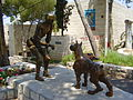 PikiWiki Israel 13677 quot;Take a bitequot; by Leon Bronstein in Ein.jpg