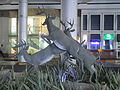 PikiWiki Israel 42051 Deers sculpture at the entrance of Azrieli mall in.JPG