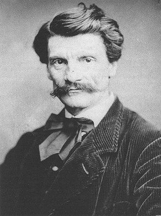 Karl von Piloty - Karl von Piloty; photograph by Franz Hanfstaengl