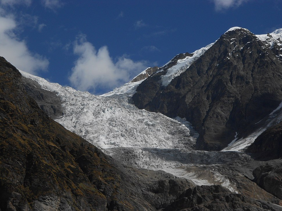Pindari glacier, Uttarakhand, India