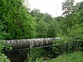 Pipeline over Levern Water - geograph.org.uk - 1319313.jpg
