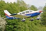 Piper PA28-180 Cherokee 'G-BBKX' (32193847504).jpg