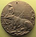 Pisanello, medaglia di cecilia gonzaga.JPG