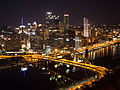 Pittsburg skyline at night (14422598194).jpg
