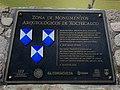 Placa informativa de Zona Arqueológica de Xochicalco.jpg