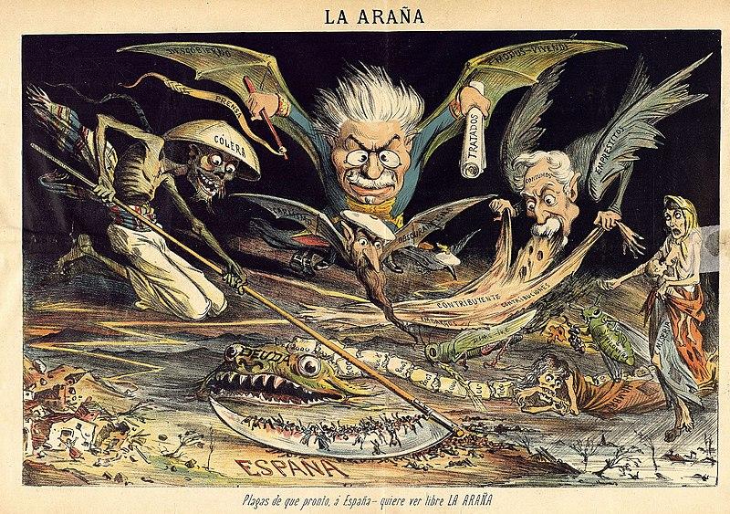 File:Plagas de que pronto, á España - quiere ver libre La Araña, número 5.jpg
