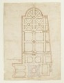 Plan över slottet, stenhuset och parken, Skoklosters slott - Skoklosters slott - 98137.tif