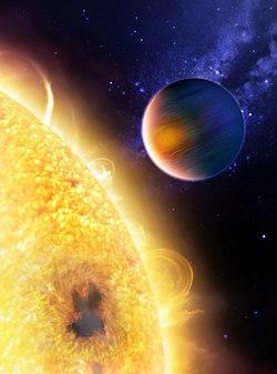 Planeta cea mai fierbinte, rapidă, iradiată şi cea mai aproape de steaua ei