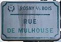 Plaque Rue Mulhouse - Rosny-sous-Bois (FR93) - 2021-04-15 - 1.jpg
