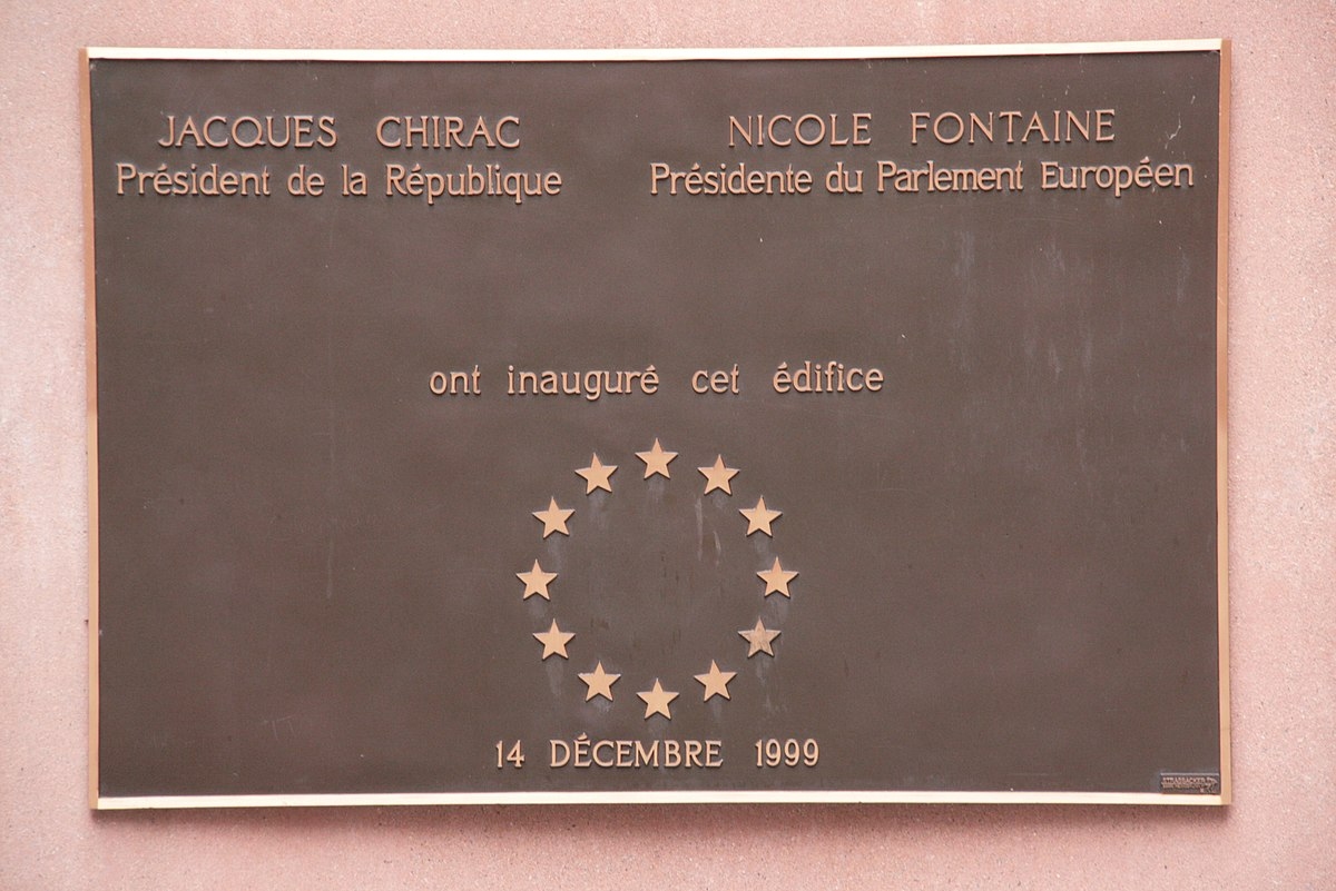 Seat of the European Parliament in Strasbourg - Wikipedia
