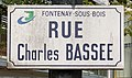 Plaque rue Charles Bassée Fontenay Bois 4.jpg