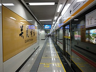 Line 2 (Zhengzhou Metro) rapid transit line of Zhengzhou Metro