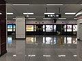 Platform of Luogang Station from train of Hefei Metro Line 1.jpg