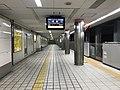Platform of Noda-Hanshin Station 5.jpg
