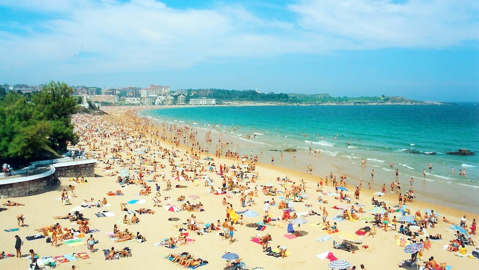 Playa Sardinero - Santander - Spain