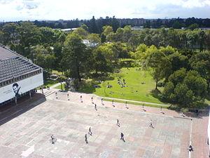 University City of Bogotá - Central Square, University City, Bogotá