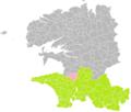 Plogonnec (Finistère) dans son Arrondissement.png