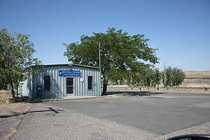 Plymouth, Washington - Plymouth, Washington post office as seen in July 2013.