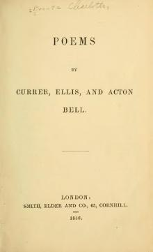 Poems by Currer, Ellis, and Acton Bell (Charlotte, Emily and Anne Brontë, 1846).djvu