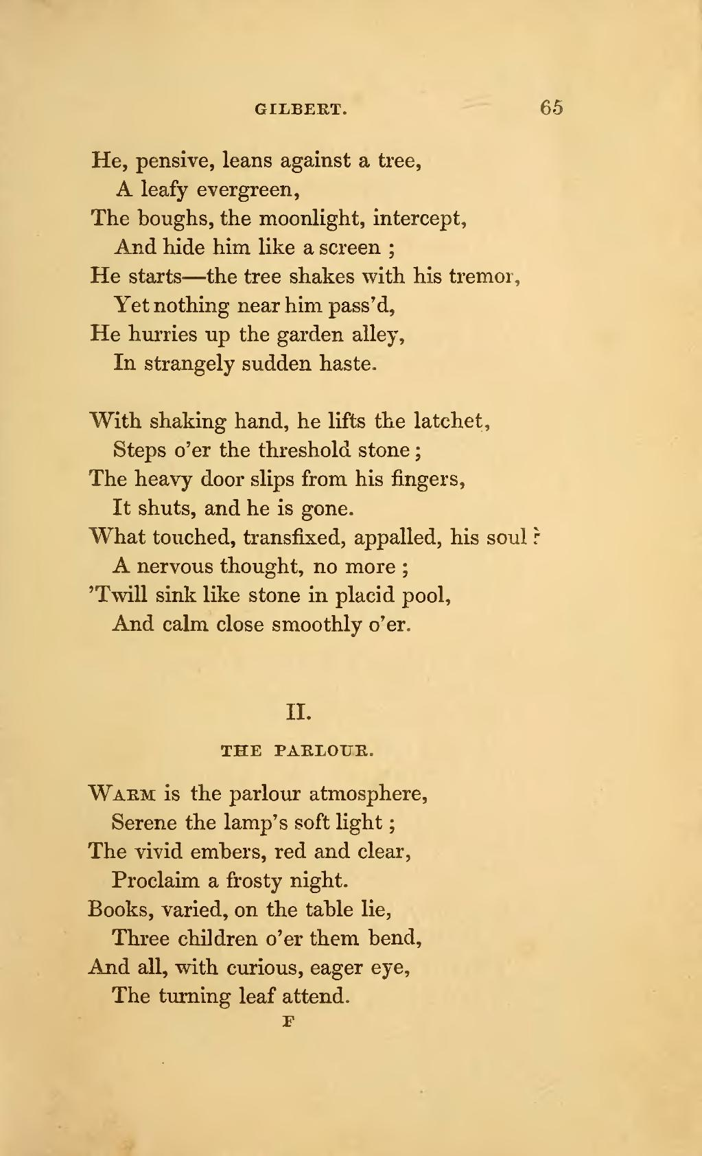 PagePoems By Currer Ellis And Acton Bell Charlotte