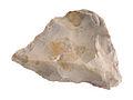 Pointe moustérienne Ile de Bréhat Paléolithique moyen Muséede Bretagne D2003.2.63.jpg