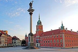 Royal Castle, Warsaw castle residency in Warsaw, Poland