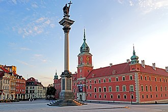 Royal Castle, Warsaw - View from the Castle Square