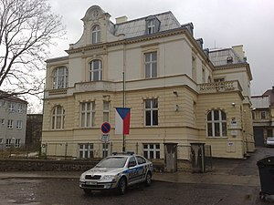 Remand (detention) - Czech Police station in Teplice