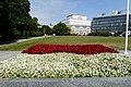 Polish Flag in Flowers in Piłsudski Square.jpg