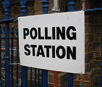 Polling place - Image: Polling Station 2008