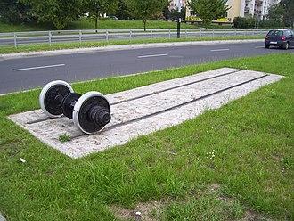 Retkinia - Retkinia Tram Route Monument (2006)