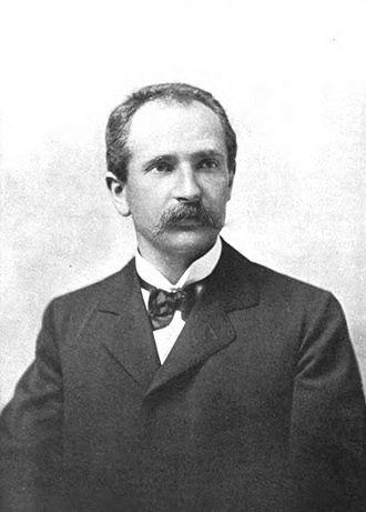 Alfredo Trombetti - Portrait of Alfredo Trombetti