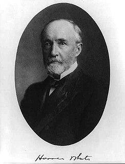 Horace White (writer) American journalist (1834–1916)
