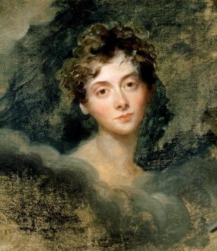 Portrait of Lady Caroline Lamb