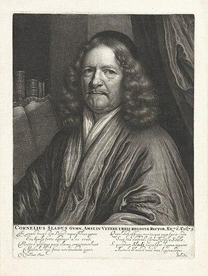 Portret van Cornelius Sladus, RP-P-1910-6870