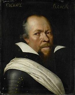 Portret van Sir William Brog (1563 - 1636) Rijksmuseum SK-A-559