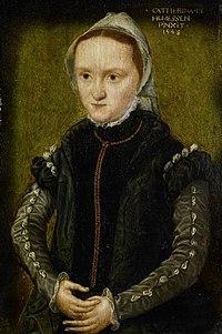 Portret van een vrouw, waarschijnlijk een zelfportret Rijksmuseum SK-A-4256.jpeg
