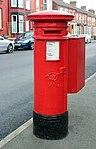 Post box on Willmer Road, Birkenhead.jpg
