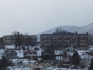 Potomac State College of West Virginia University - Viewed from US 220 in January 2014